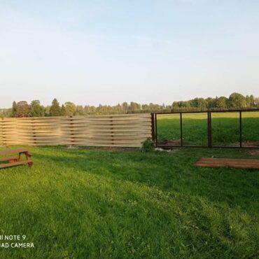 Telli Aiad, Väravad, Piirded Mõisaseppis Eestis